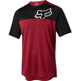 Fox Attack Pro Short Sleeve Jersey Men red/black